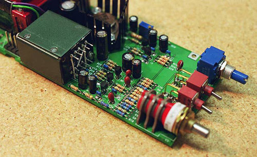 Small Electret Microphone Preamplifier Amplifier Circuit Design