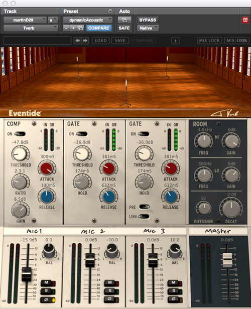 Eventide Tverb Reverb Plug-In