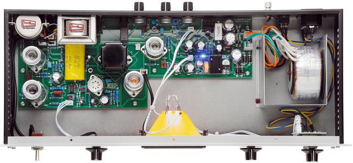 Warm Audio WA-2A Tube Opto Compressor Inside