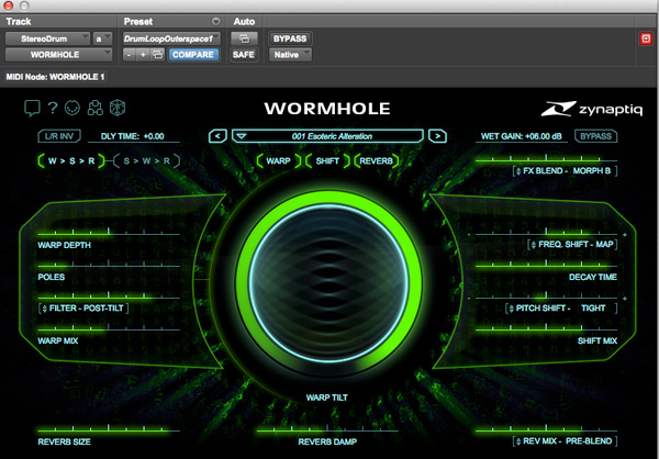 Zynaptiq's Wormhole