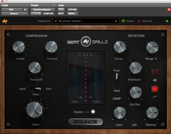 Beatskillz Bounce Compressor Plug-in