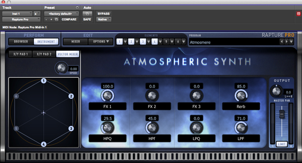 Cakewalk Rapture Pro Synth