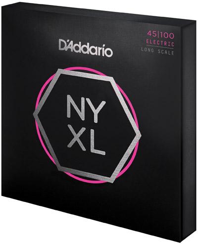 D'Addario NYXL Bass Strings