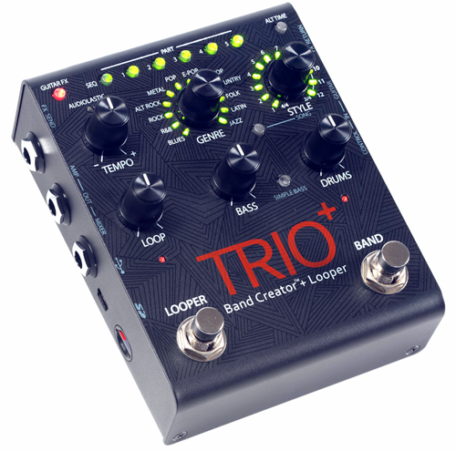 DigiTech TRIO+ Band Creator Plus Looper Pedal