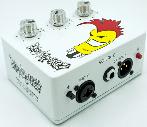 Casa Distortion Pedalpunk Stomp Box Interface