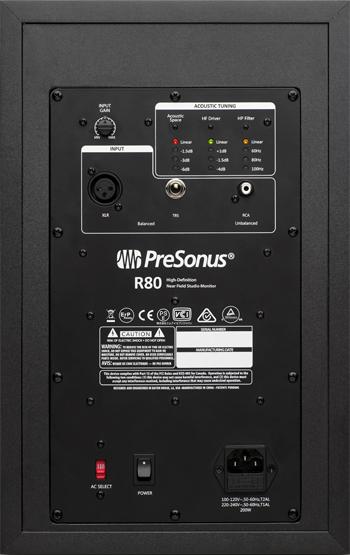 PreSonus R80 Studio Monitor