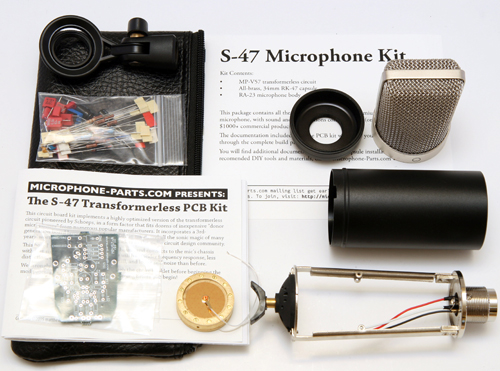 Microphone-Parts.com Mod Kits