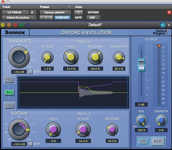 Sonnox Envolution Envelope Shaper