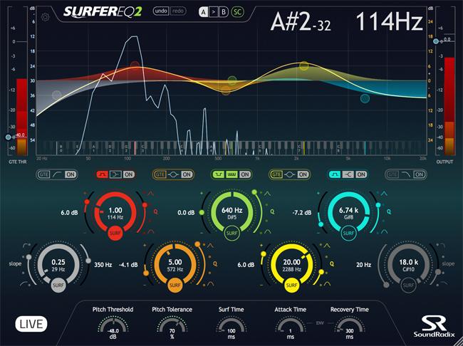 Sound Radix SurferEQ2