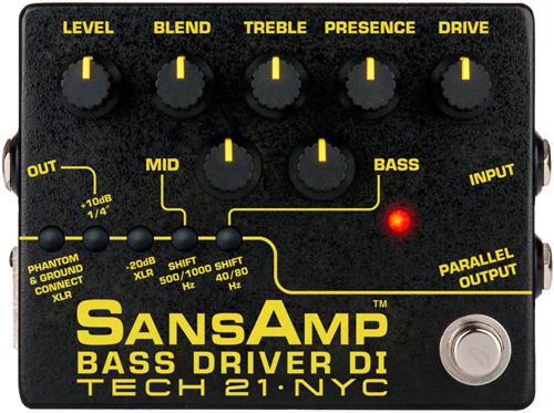 Tech 21 SansAmp Bass Driver DI Version 2