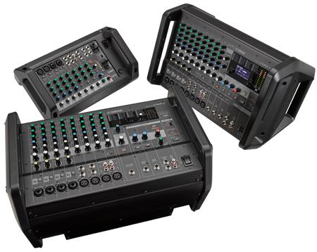 Yamaha EMX Series Compact Powered Mixers