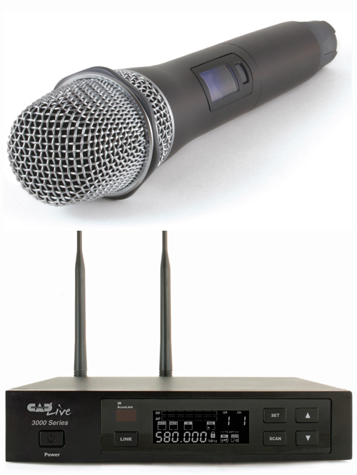 CADLive WX3000 Wireless Microphone System