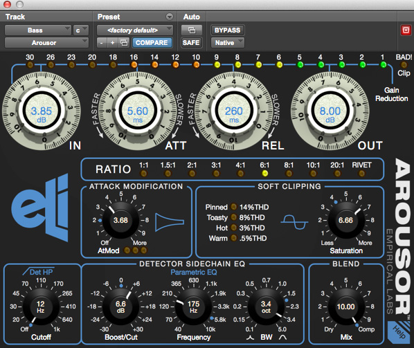 Empirical Labs Arousor Compressor
