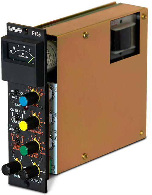 Q2 Audio F765 500 Series Compressor/Limiter