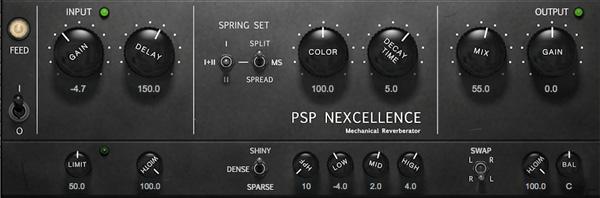 PSP Nexcellence Spring Reverb