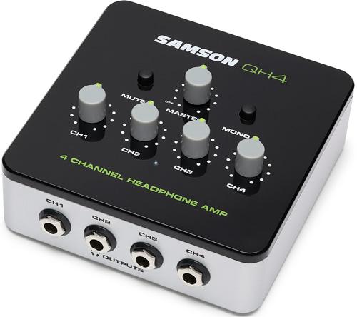 Samson QH4 4-Channel Headphone Amp