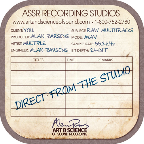 Alan Parsons ASSR Session Files