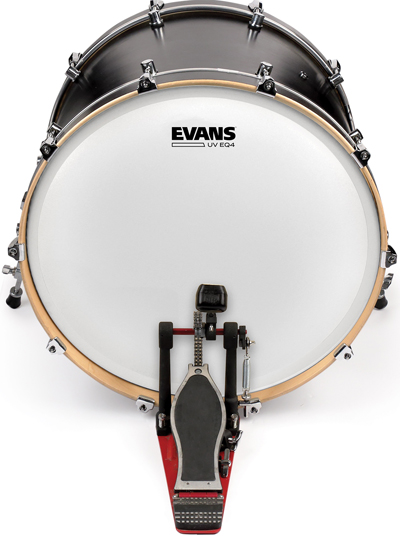 D'Addario Evans UVI Bass Drum Heads